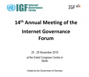 14th Annual Meeting of the UK IGF