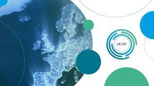UK IGF 2019 map and logo